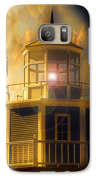 Galaxy Case featuring the photograph Lighthouse  by Aaron Berg