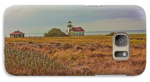 Galaxy Case featuring the photograph Lighthouse by Brian Williamson