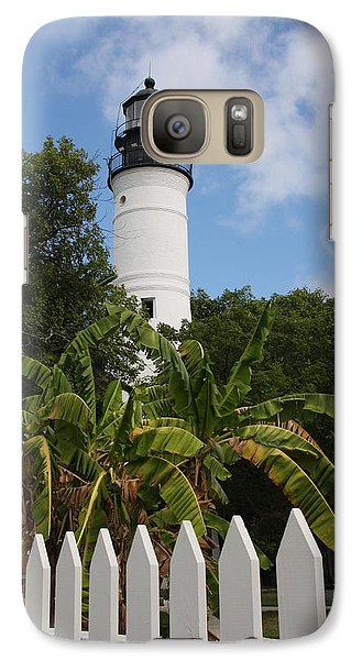 Galaxy Case featuring the photograph A Sailoirs Guide On The Florida Keys by Christiane Schulze Art And Photography