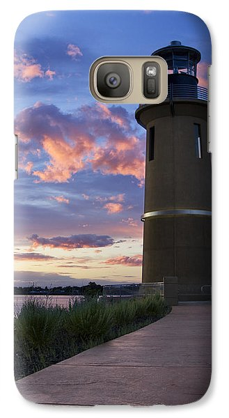 Galaxy Case featuring the photograph Lighthouse by Sonya Lang
