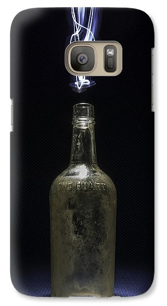 Galaxy Case featuring the photograph Lighting By The Quart - Light Painting by Steven Milner