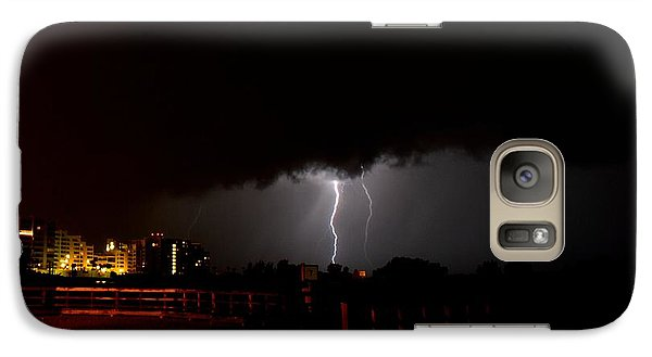 Galaxy Case featuring the photograph Lightning 10 by Richard Zentner