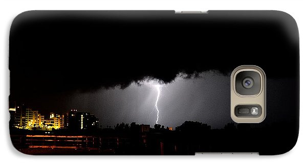 Galaxy Case featuring the photograph Lightning 11 by Richard Zentner