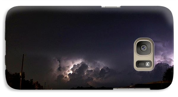Galaxy Case featuring the photograph Lightning 9 by Richard Zentner