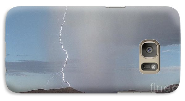 Galaxy Case featuring the photograph Lightning Bolt by Chris Tarpening