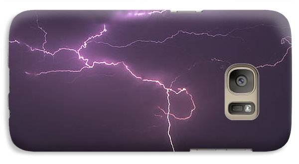 Galaxy Case featuring the photograph Lightning by Rob Graham