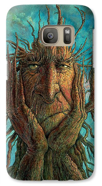 Fantasy Galaxy S7 Case - Lightninghead by Frank Robert Dixon