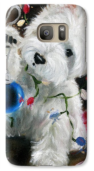 Sparrow Galaxy S7 Case - Lights And Balls by Mary Sparrow