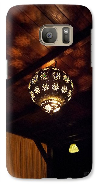 Galaxy Case featuring the photograph Lights And Shadows by Linda Prewer
