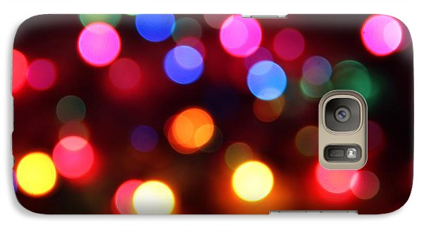 Galaxy Case featuring the photograph Lights by Elizabeth Budd