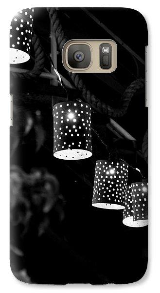 Galaxy Case featuring the digital art Lights by Gandz Photography