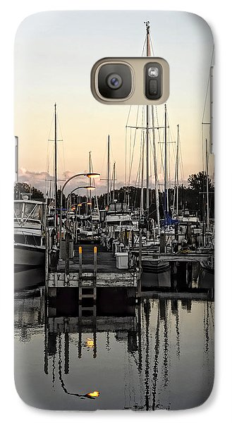 Galaxy Case featuring the photograph Lights On by Sami Martin