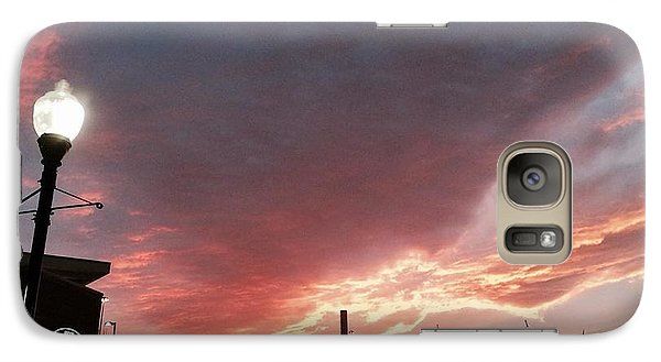 Galaxy Case featuring the photograph Lights The Whole Sky by Toni Martsoukos