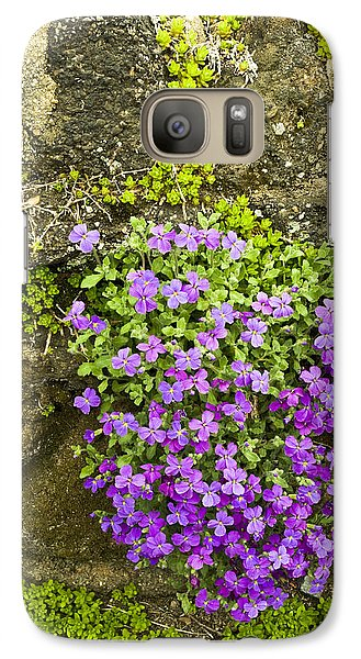 Galaxy Case featuring the photograph Lilac Bush by Gary Slawsky