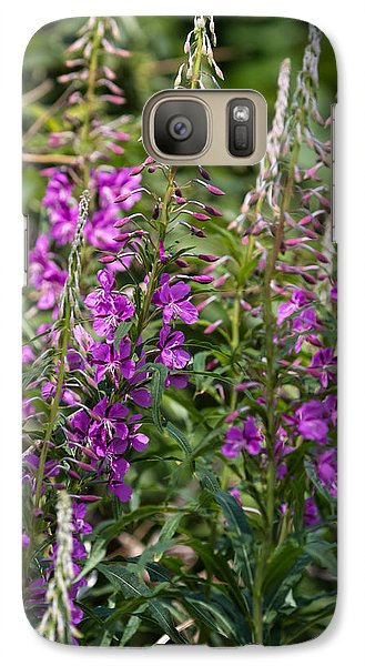Galaxy Case featuring the photograph Lilac Flower by Leif Sohlman