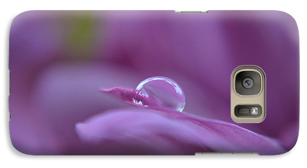 Galaxy Case featuring the photograph Lilac by Michelle Meenawong