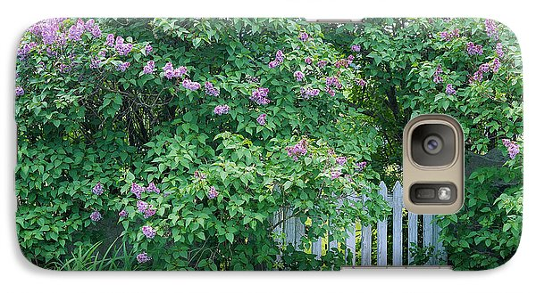 Galaxy Case featuring the photograph Lilac Season by Alan L Graham