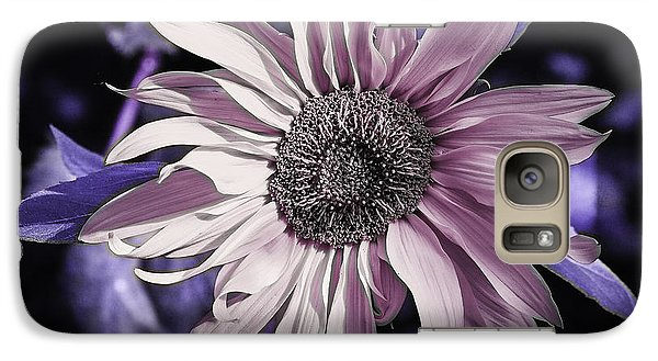 Galaxy Case featuring the photograph Lilac Sunflower by Michael Canning