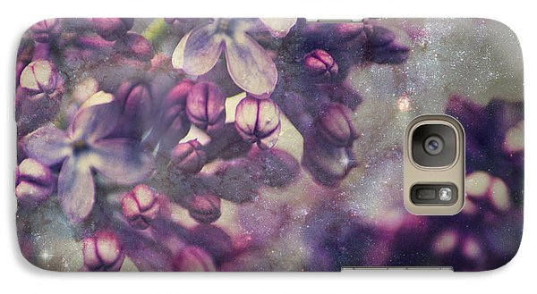 Lilac Galaxy S7 Case by Yulia Kazansky