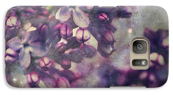 Galaxy Case featuring the photograph Lilac by Yulia Kazansky