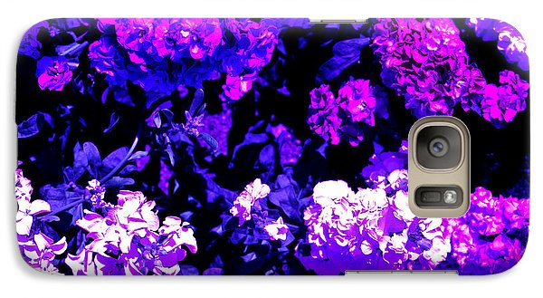 Galaxy Case featuring the photograph Lilacs by Michael Nowotny
