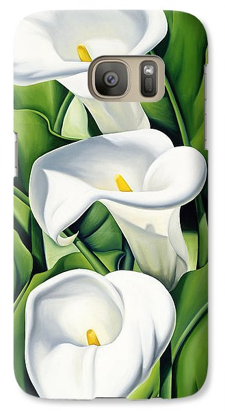 Lily Galaxy S7 Case - Lilies by Catherine Abel