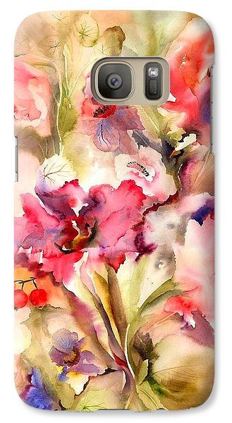 Lilies Galaxy Case by Neela Pushparaj