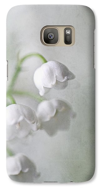 Galaxy Case featuring the photograph Lilies Of The Valley by Annie Snel