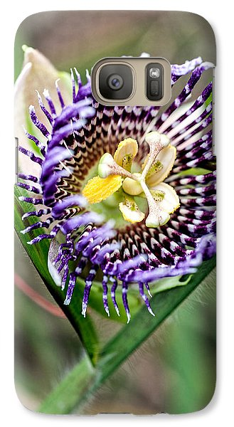 Galaxy Case featuring the photograph Lilikoi Flower by Dan McManus