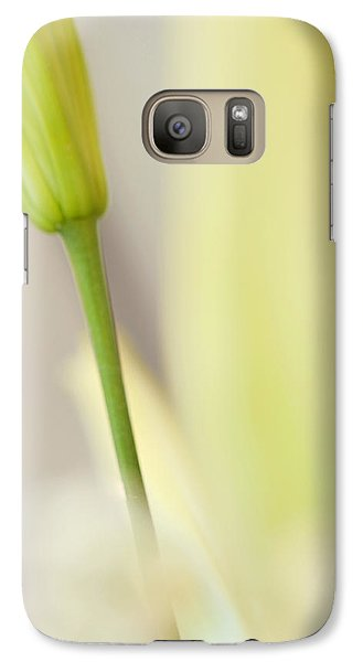 Lily Delight. Floral Abstract Galaxy S7 Case by Jenny Rainbow