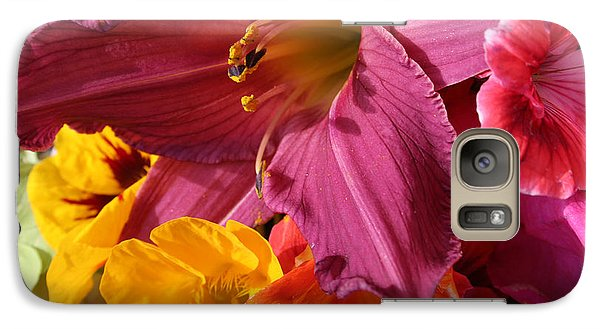 Galaxy Case featuring the photograph Lily by Jeanette French