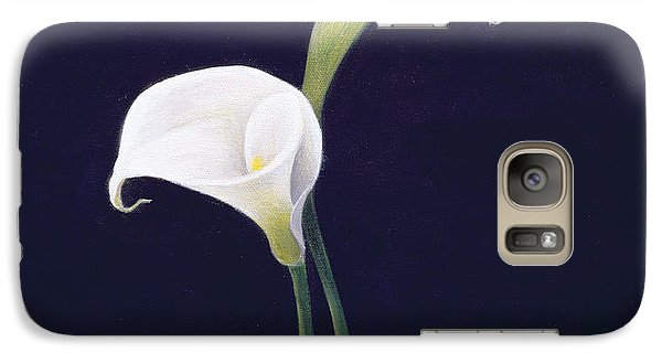 Lily Galaxy S7 Case - Lily by Lincoln Seligman