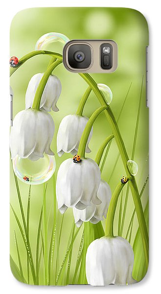 Lily Of The Valley Galaxy S7 Case