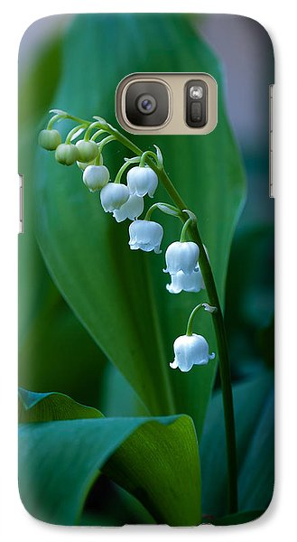 Galaxy Case featuring the photograph Lily Of The Valley by Wayne Meyer