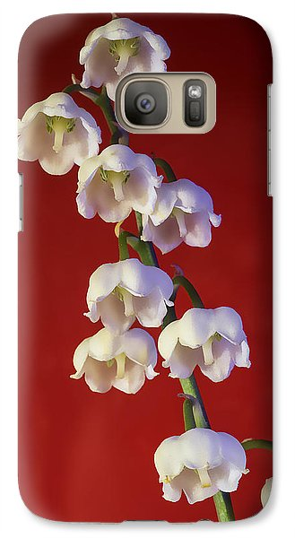 Galaxy Case featuring the photograph Lily Of The Vallley by Vladimir Kholostykh