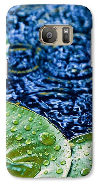 Lily Pads Galaxy S7 Case by Debi Bishop