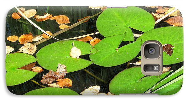 Galaxy Case featuring the photograph Lily Pads by Mary Bedy