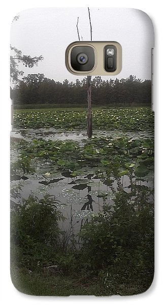 Galaxy Case featuring the photograph Lily Pads by Fortunate Findings Shirley Dickerson