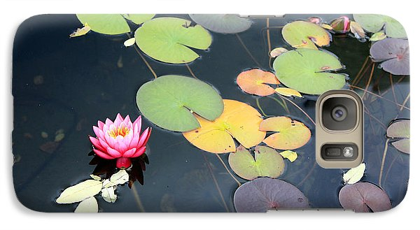 Galaxy Case featuring the photograph Lily Pond by Gerry Bates