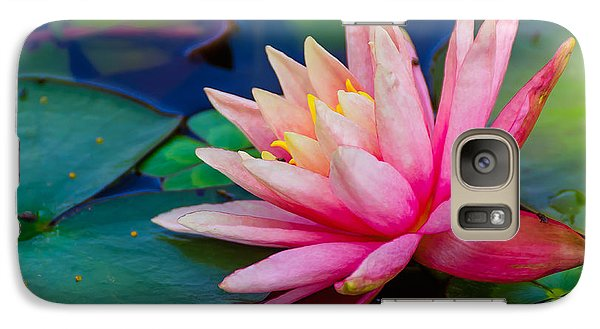 Galaxy Case featuring the photograph Lily Pond by John Johnson