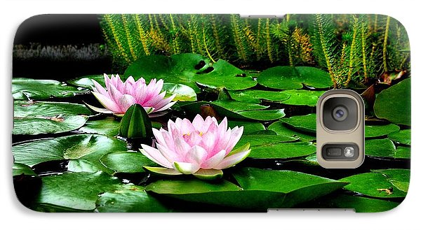 Galaxy Case featuring the photograph Lily Pond by John S