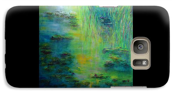 Lily Pond Tribute To Monet Galaxy S7 Case
