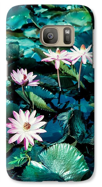 Galaxy Case featuring the photograph Lily by Randy Sylvia