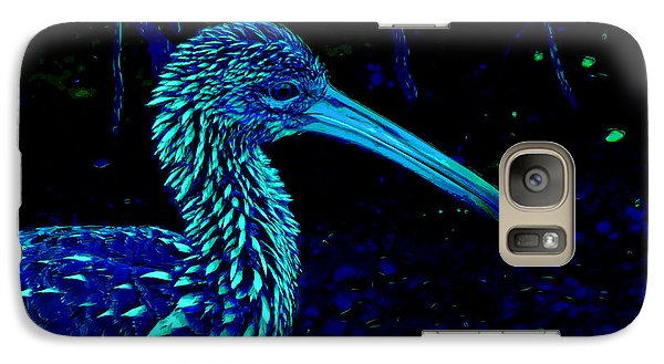 Galaxy Case featuring the painting Limpkin by David Mckinney
