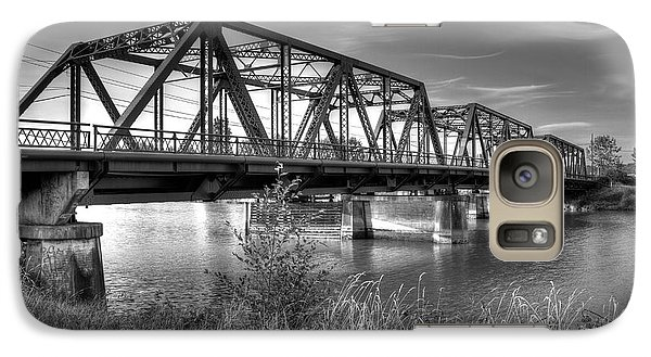 Galaxy Case featuring the photograph Lincoln Ave. Bridge by Rob Green