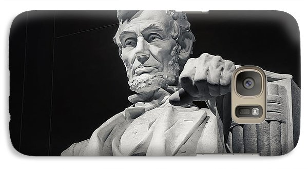 Lincoln Memorial Galaxy S7 Case - Lincoln by Joan Carroll