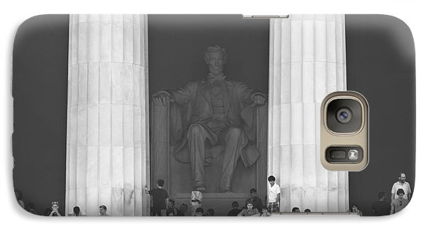 Lincoln Memorial Galaxy S7 Case - Lincoln Memorial - Washington Dc by Mike McGlothlen