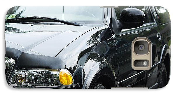Galaxy Case featuring the photograph Lincoln Navigator  by Melissa Messick