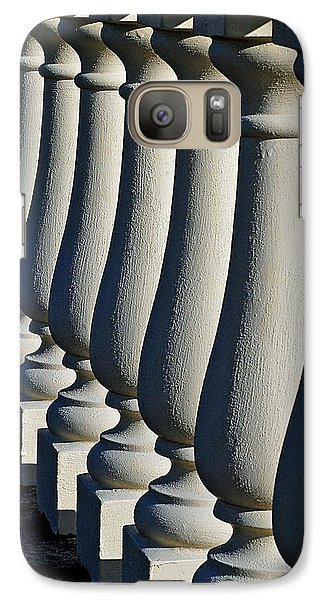 Galaxy Case featuring the photograph Lineup by Lisa Phillips