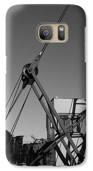 Galaxy Case featuring the photograph Lining by Maja Sokolowska